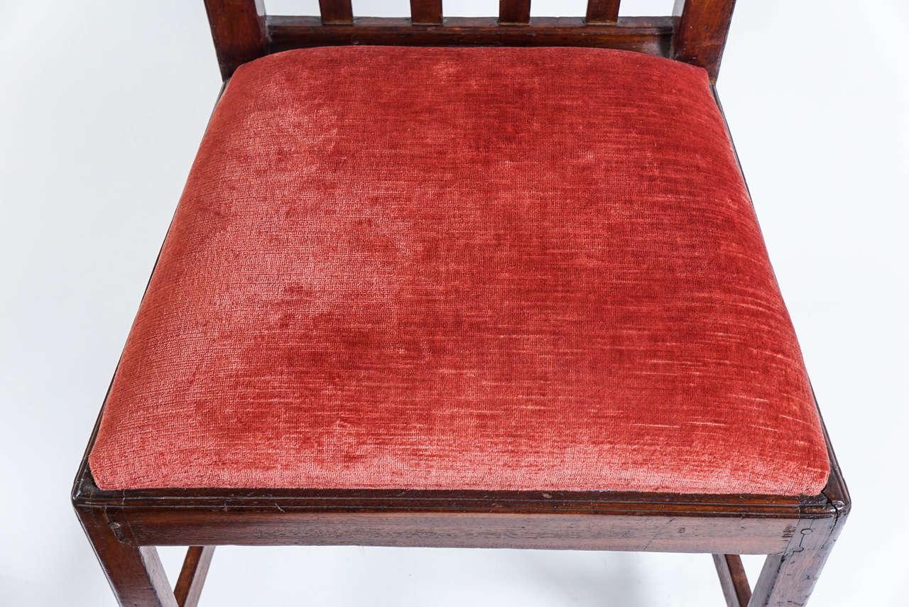 Mahogany Side Chair, New York, circa 1790 at 1stdibs