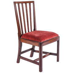 Mahogany Side Chair, New York, circa 1790