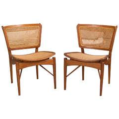 Set of Four Finn Juhl NV  51 ChairsFinn Juhl  Rare Set of Four Original Dining Chairs  Model 108 For  . Finn Juhl Chair 108. Home Design Ideas