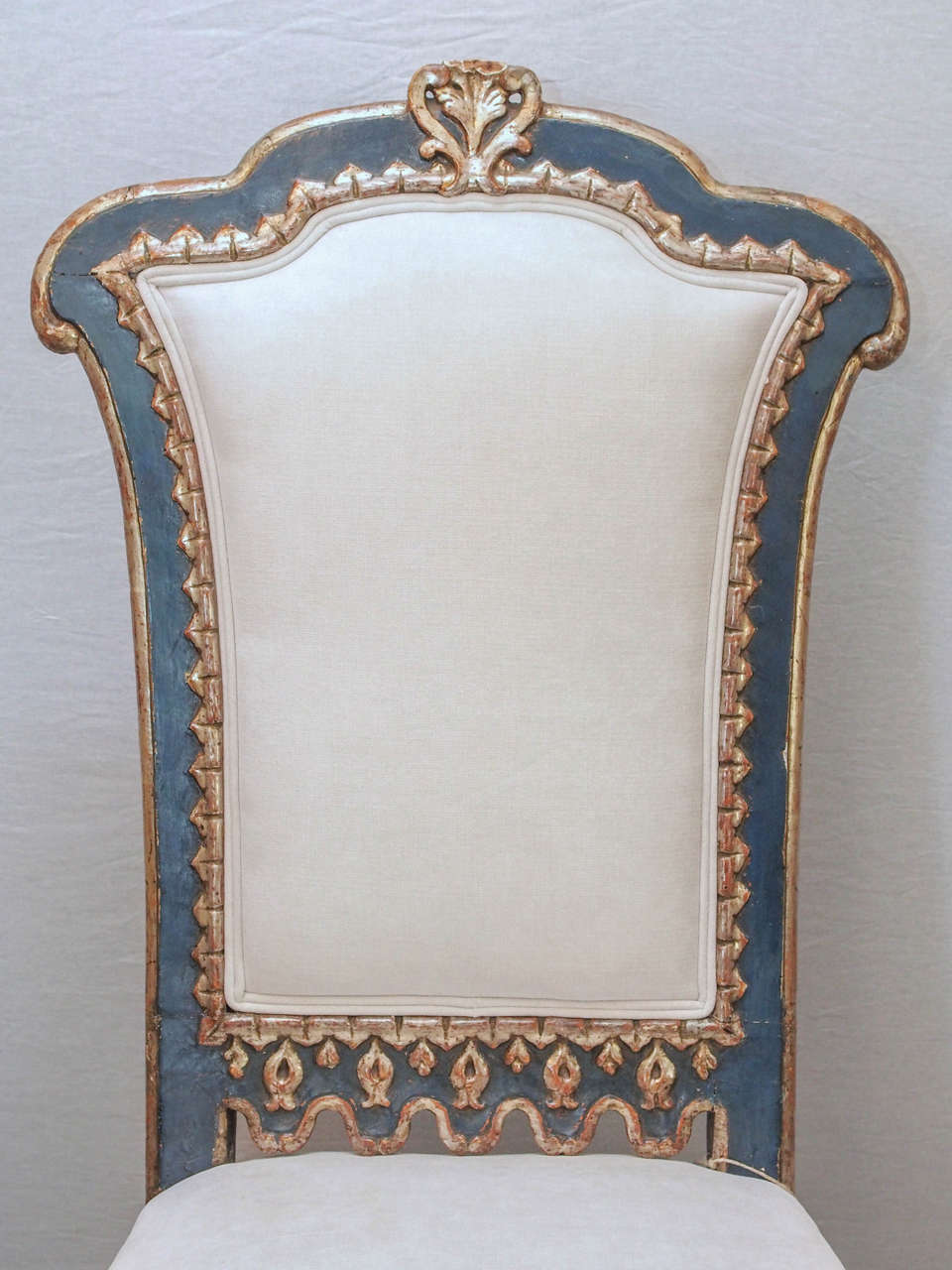Pair of Italian Baroque Side Chairs 3