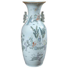Chinese Vase with Handles