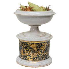19th Century French Paris Porcelain Compote