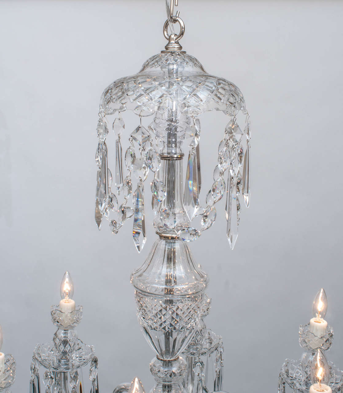 Waterford six light crystal chandelier circa 1970 for sale at 1stdibs waterford six light crystal chandelier circa 1970 3 arubaitofo Gallery
