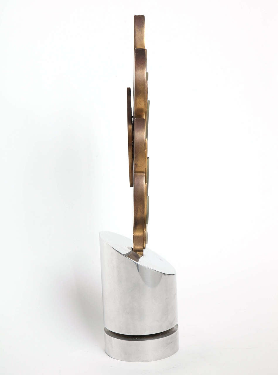 American Bronze and Aluminum Sculpture