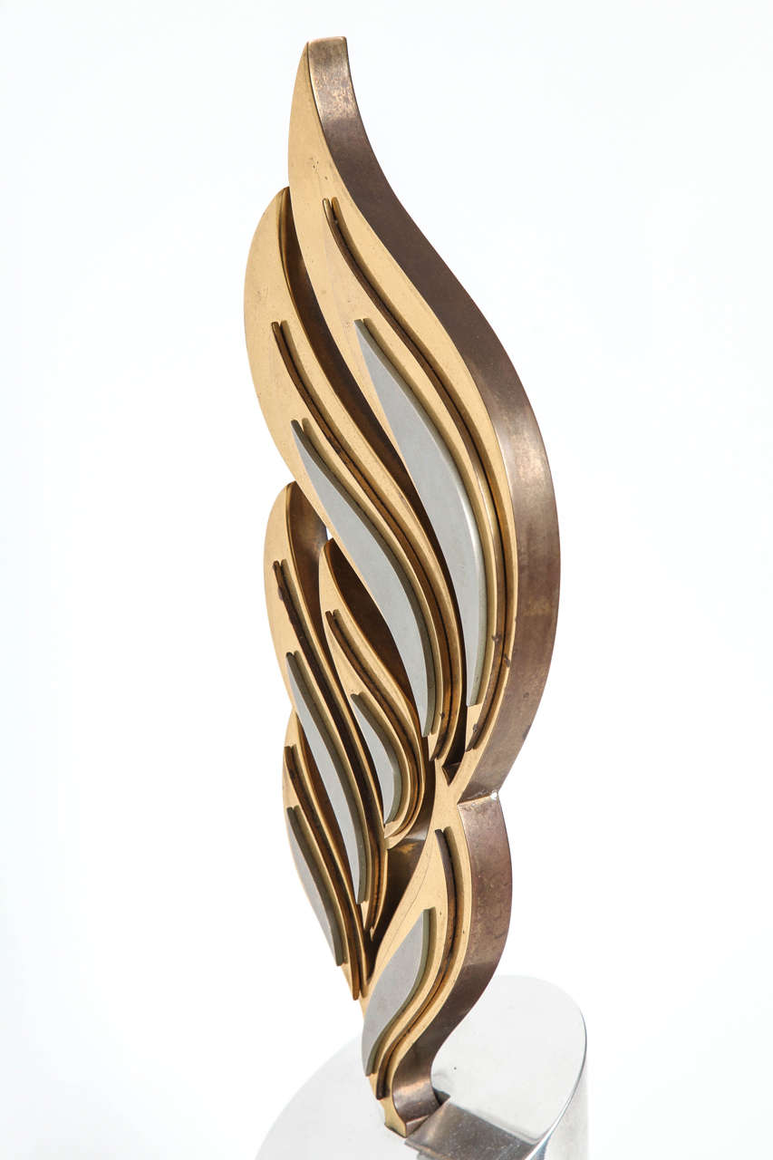 Bronze and Aluminum Sculpture