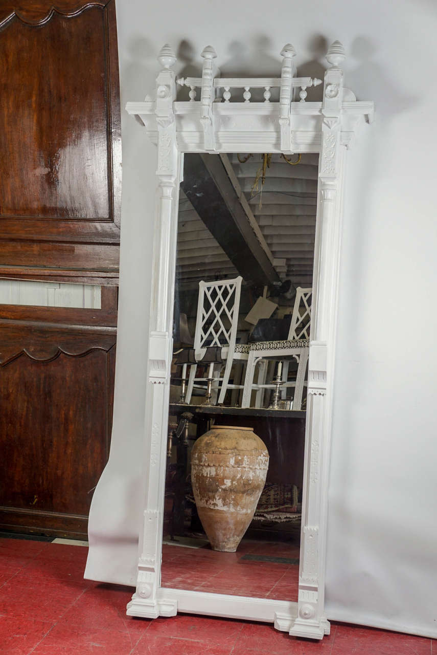 Large Arts And Crafts Pier Mirror For Sale At 1stdibs