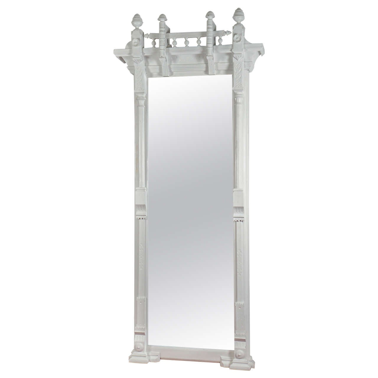 Large Arts and Crafts Pier Mirror