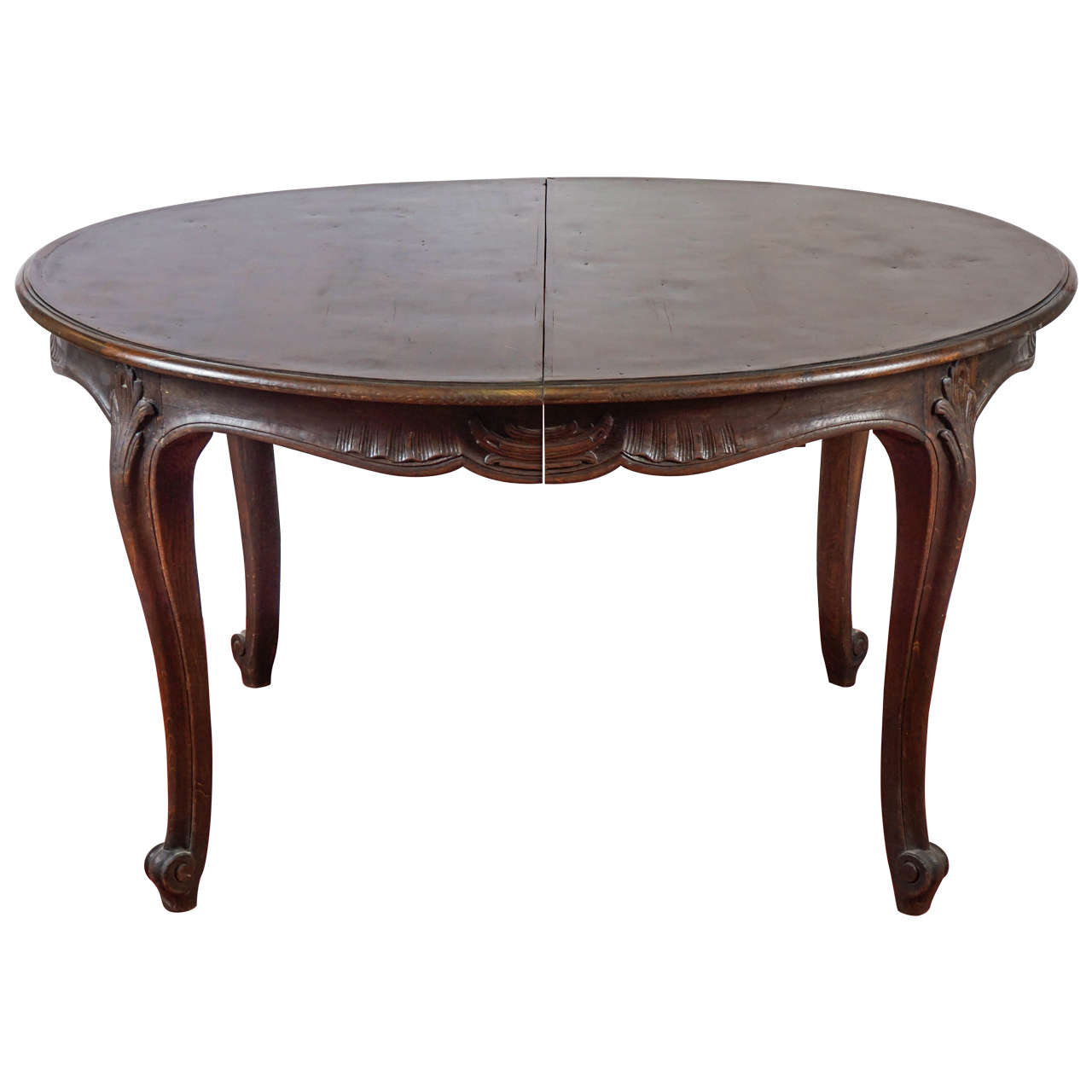 Louis xv style oval dining table for sale at 1stdibs Oval dining table