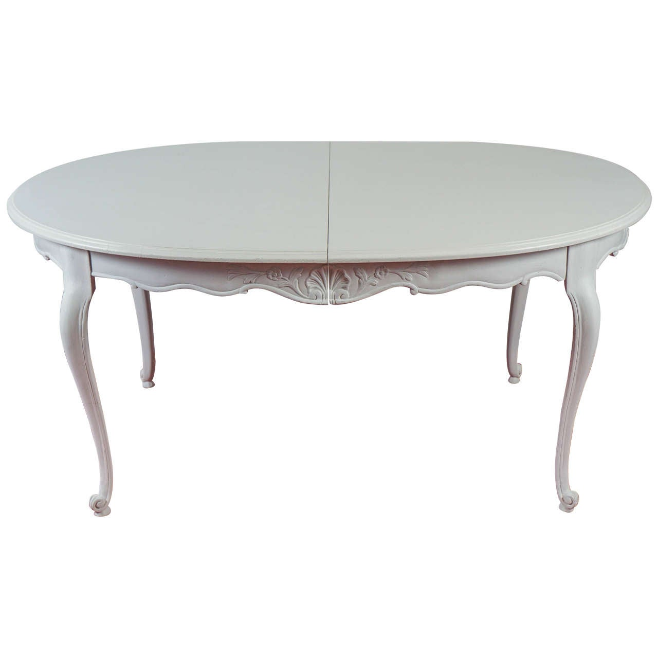 Louis xv style oval dining table at 1stdibs - Table louis xv ...