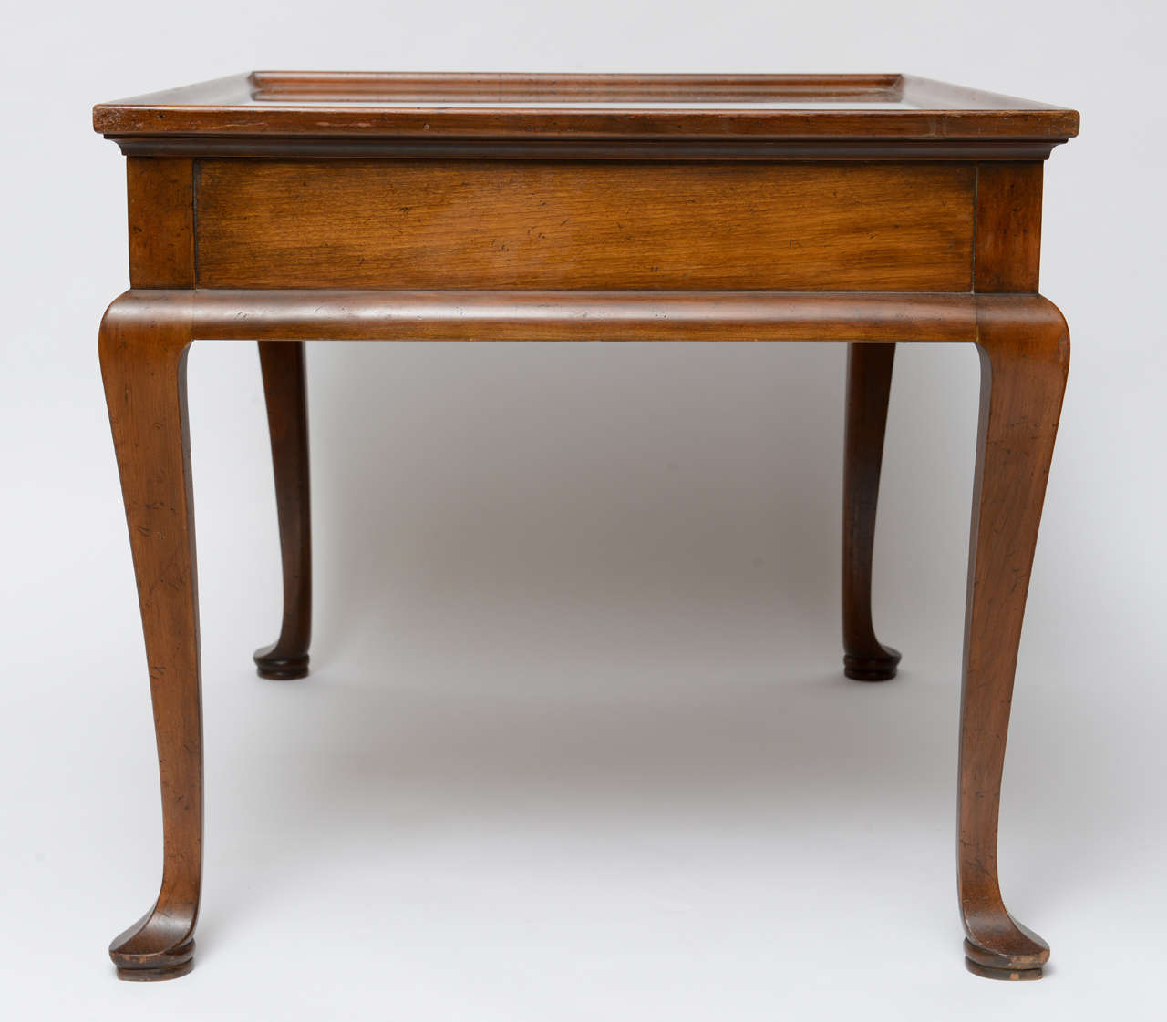Queen Anne Style Coffee Table By Baker For Sale At 1stdibs