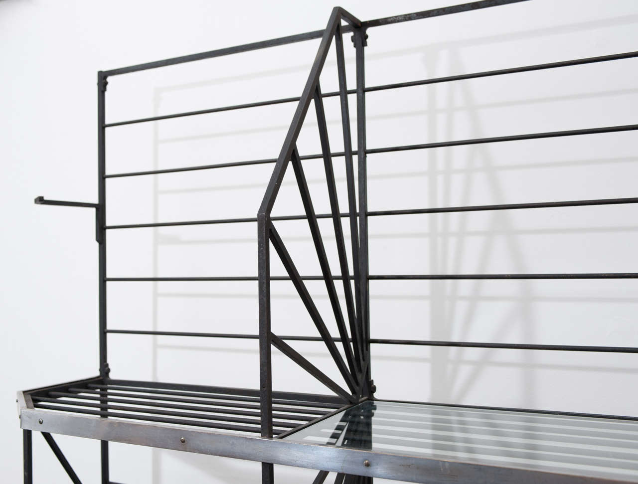 French Art Deco Bakers Rack In Excellent Condition For Sale In Toronto, CA