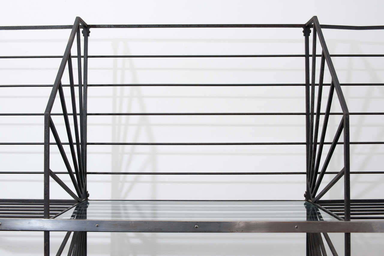 French Art Deco Bakers Rack 4
