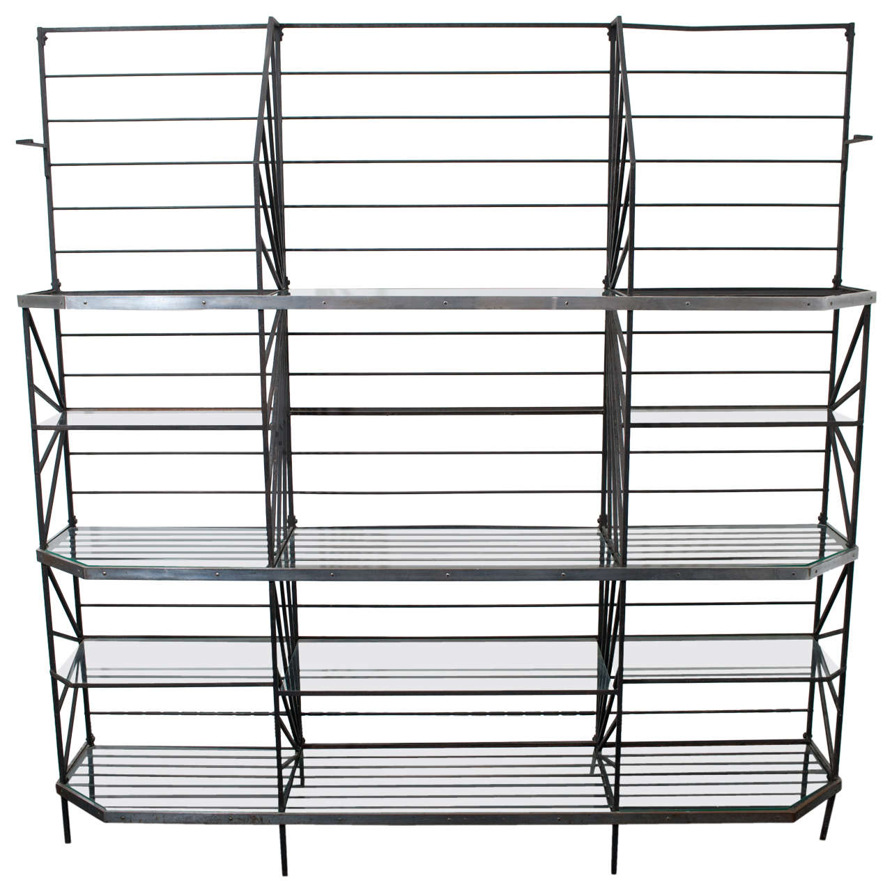 French Art Deco Bakers Rack For Sale