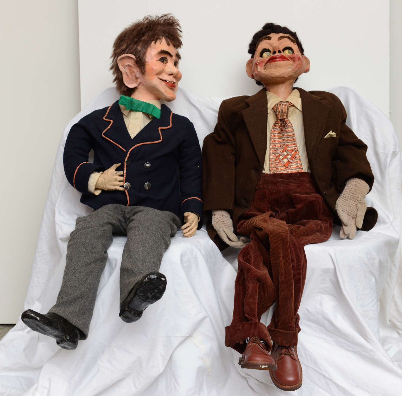 Pair of Ventriloquist Dummies image 2