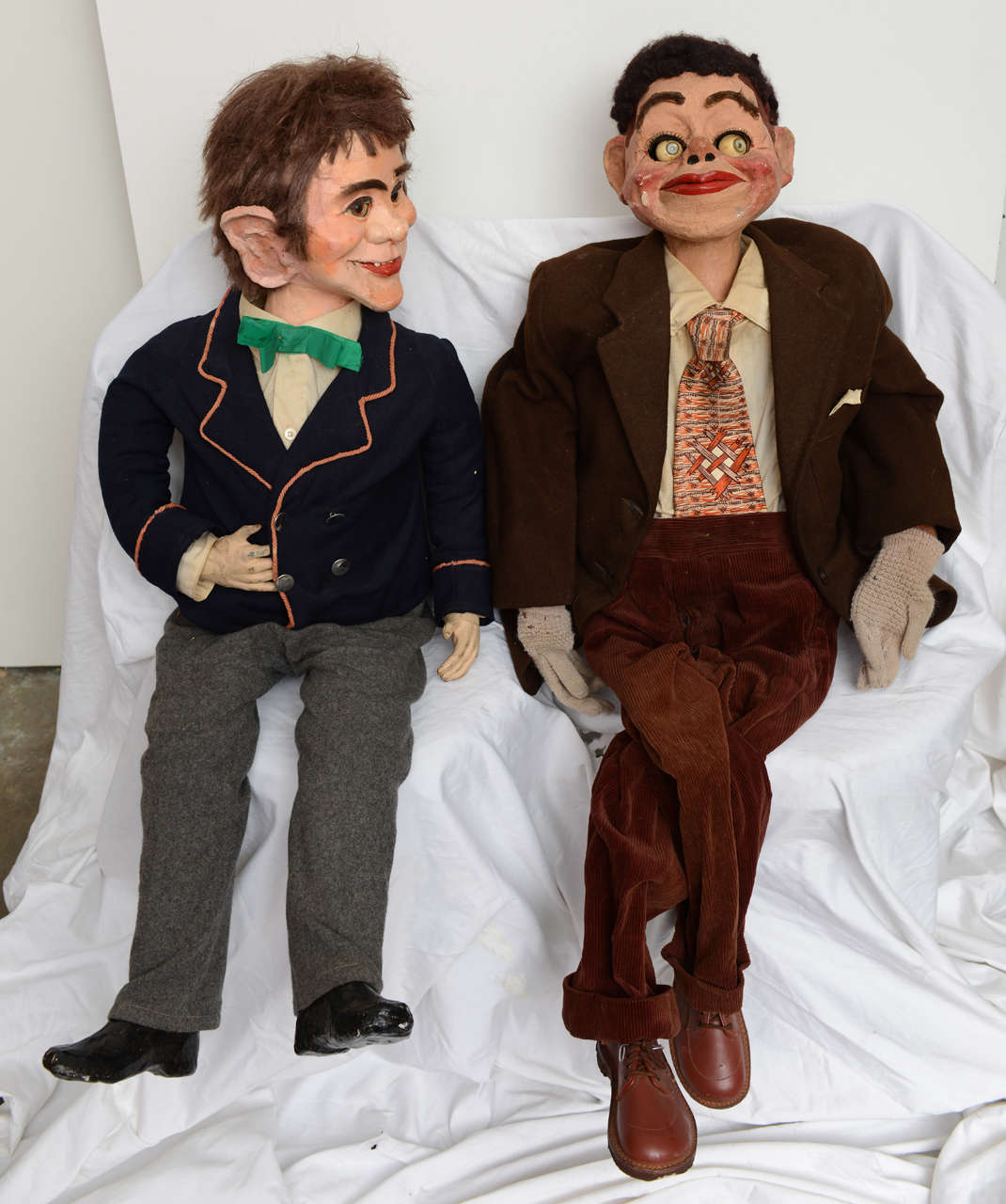 Pair of Ventriloquist Dummies image 3