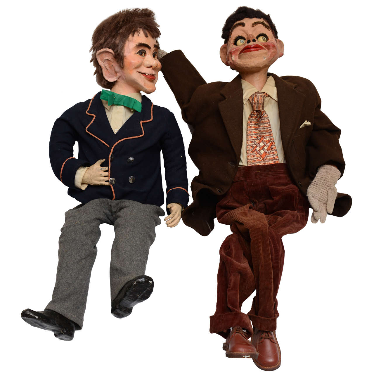 Pair of Ventriloquist Dummies