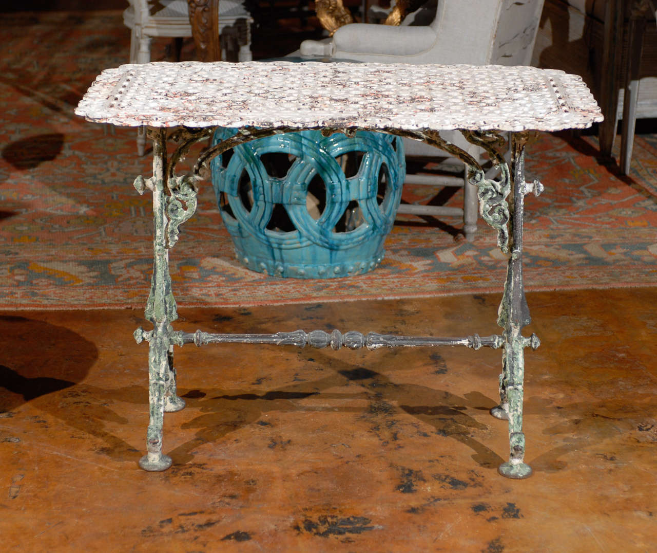 French Iron Table 8