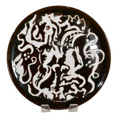 Jean Lurcat Pottery Charger