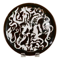 Portuguese Palissy Charger For Sale At 1stdibs