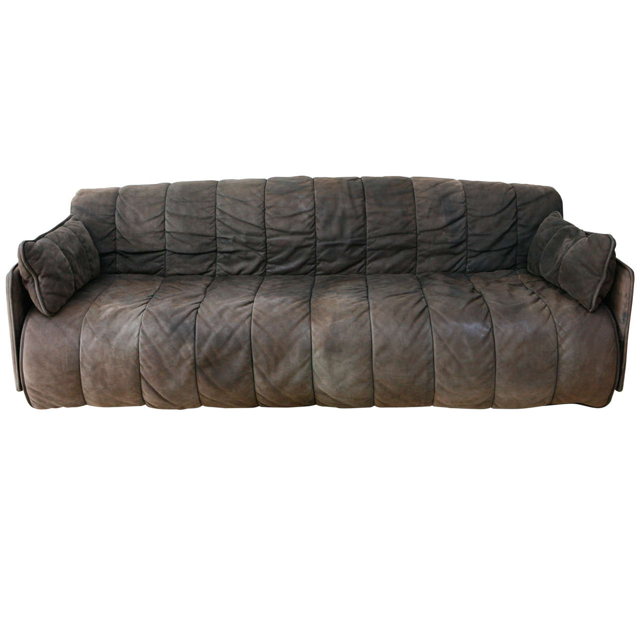 De Sede Convertible Leather Sofa For Sale