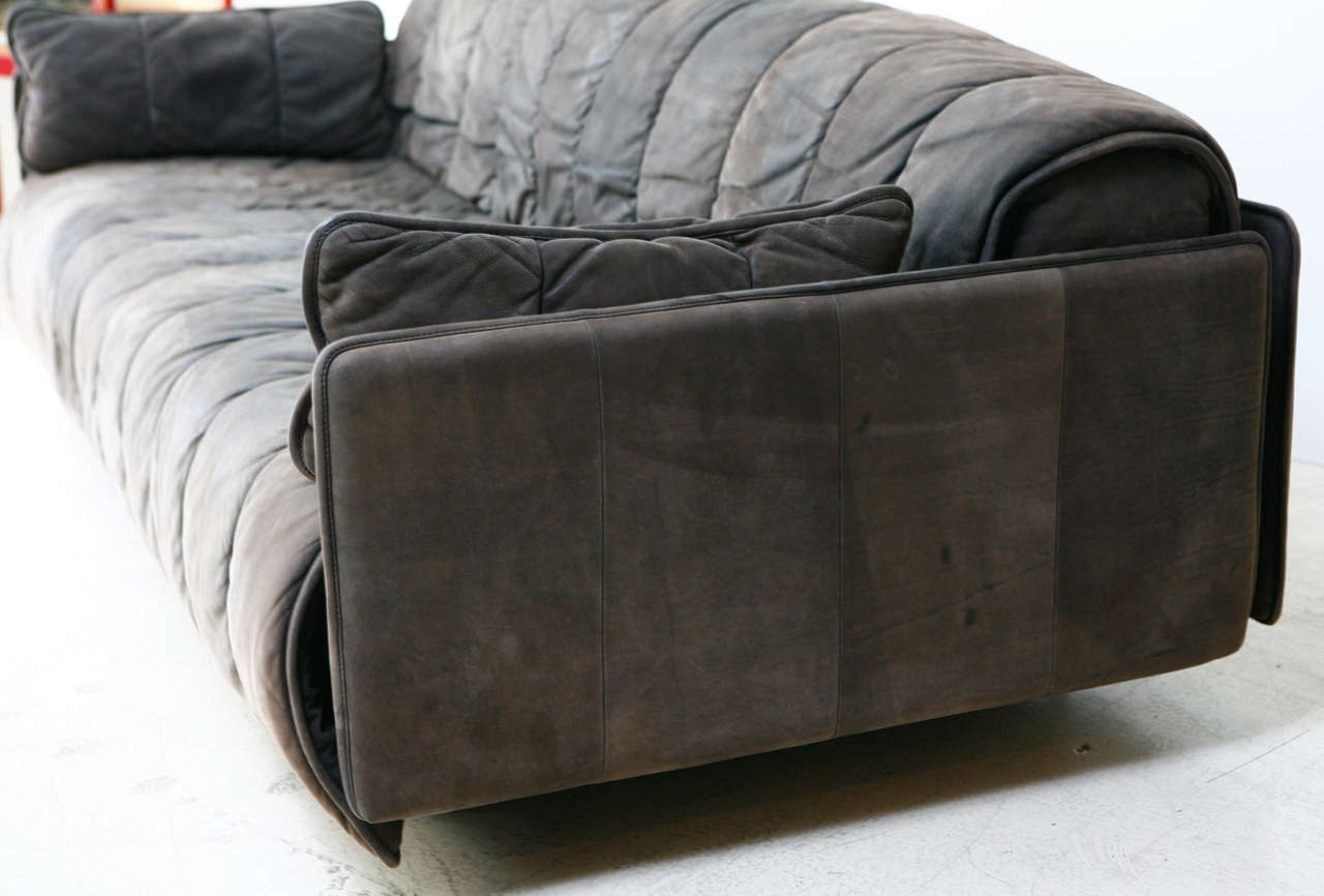 De Sede Convertible Leather Sofa 1