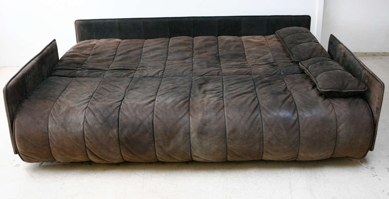 De Sede Convertible Leather Sofa 2