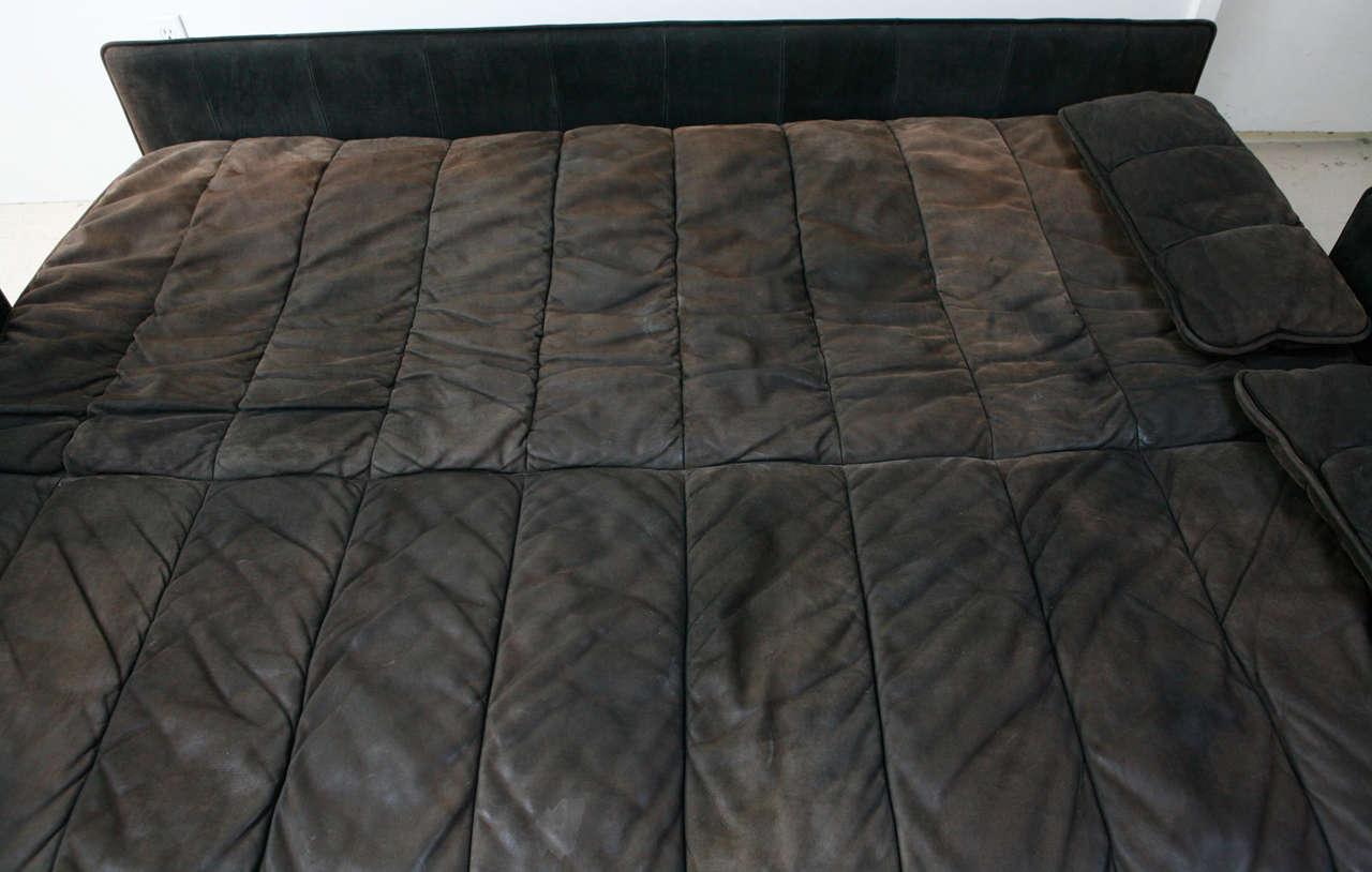 De Sede Convertible Leather Sofa 3