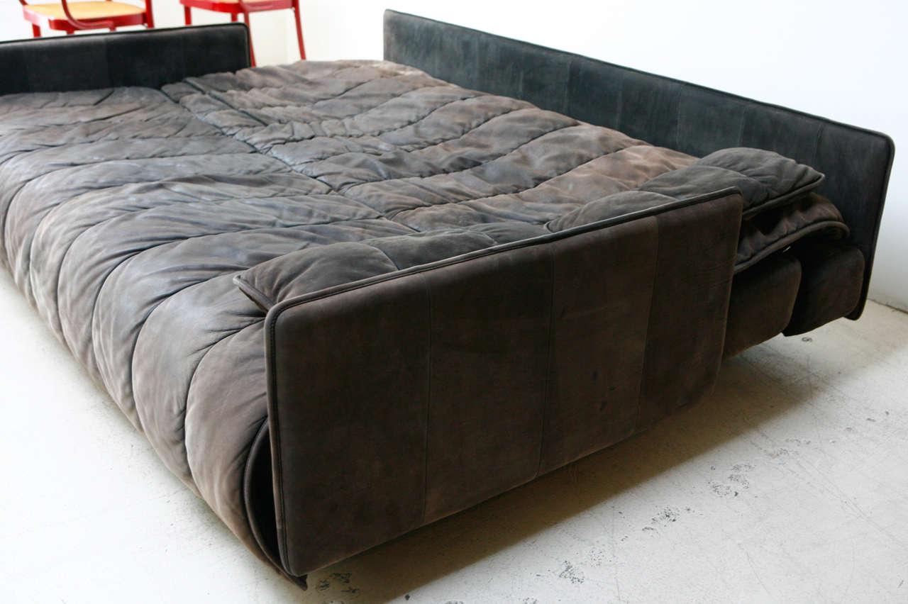 De Sede Convertible Leather Sofa 4