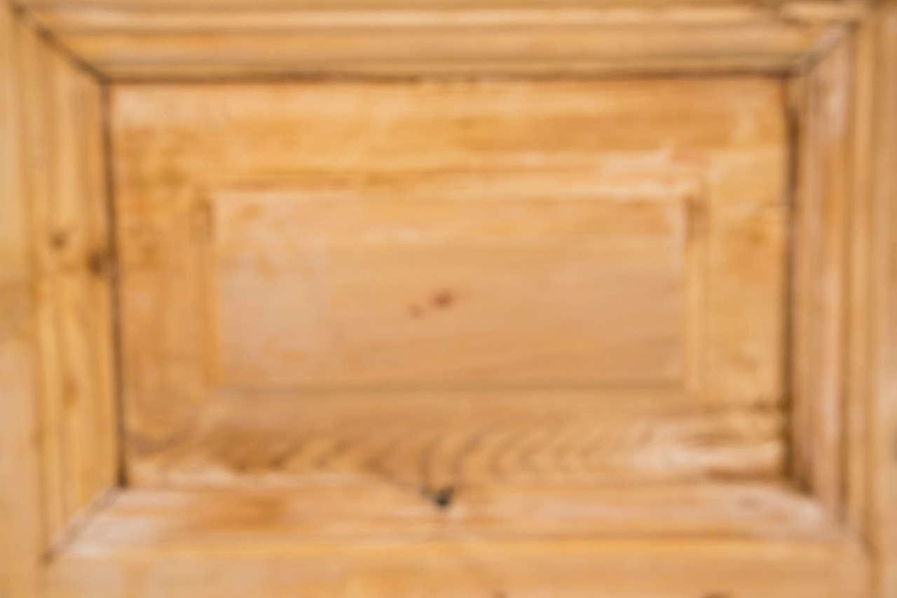 Pair of French Pine Doors 19th Century 5