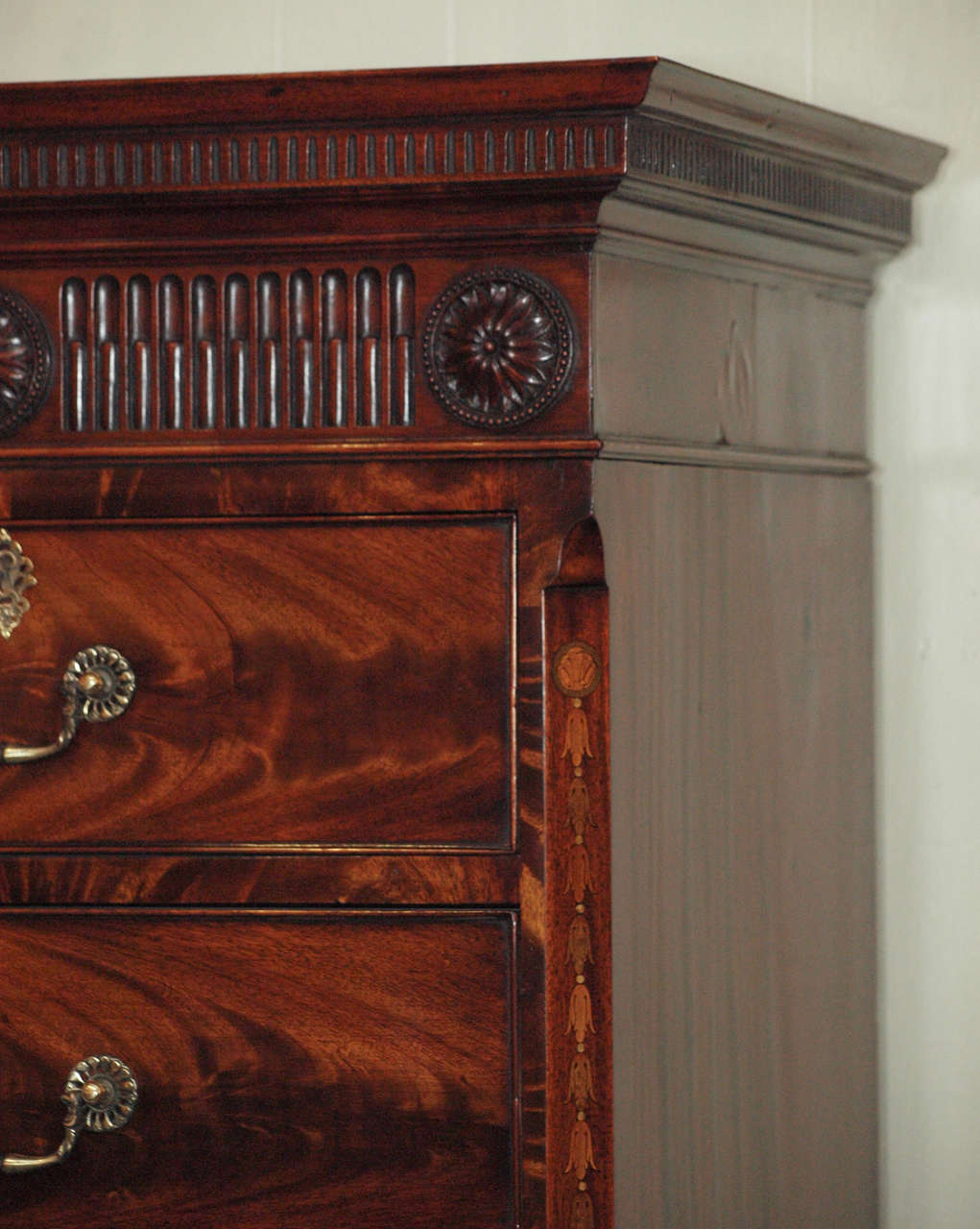 Antique English Chest on Chest 5