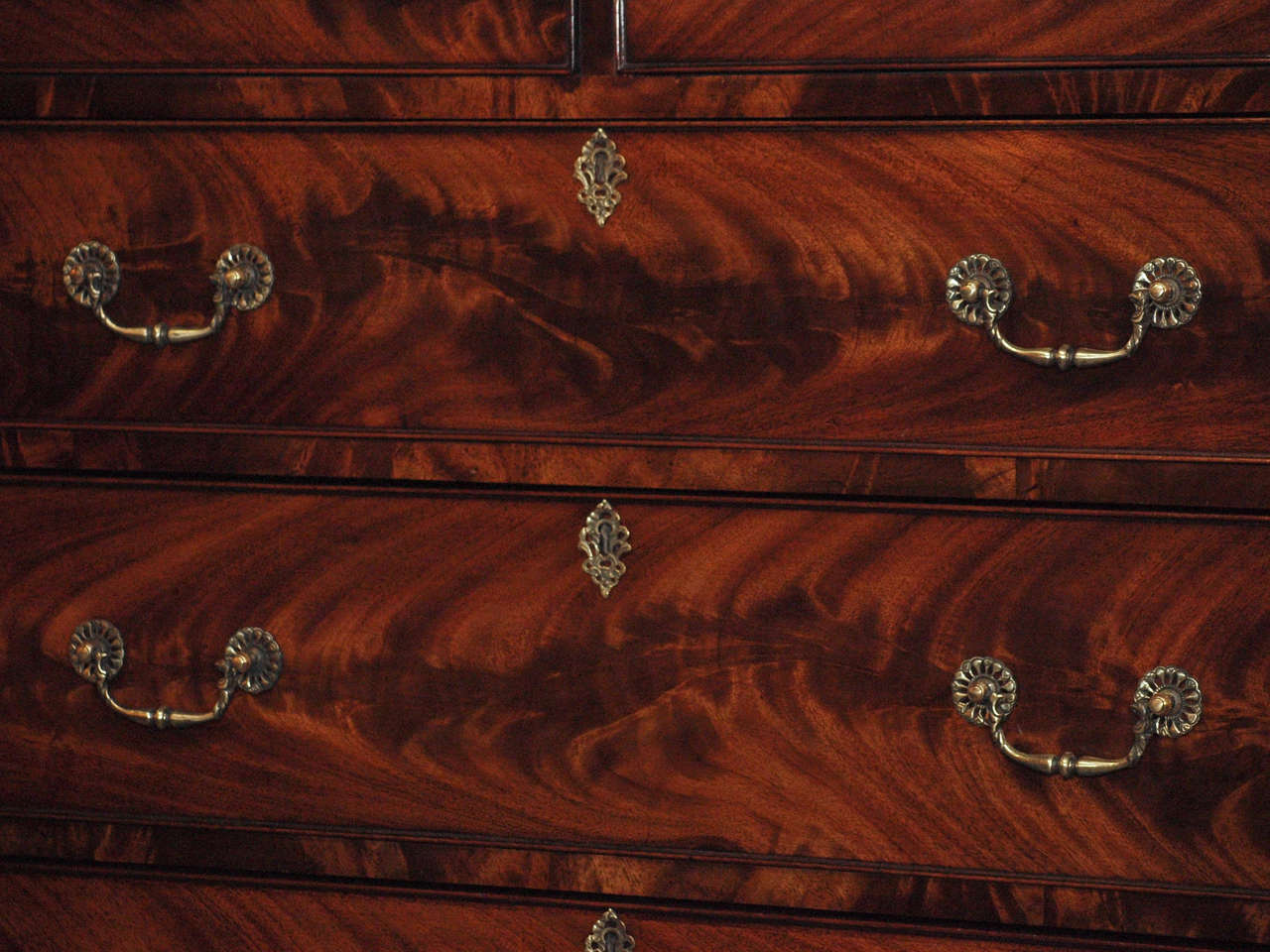 Antique English Chest on Chest 6