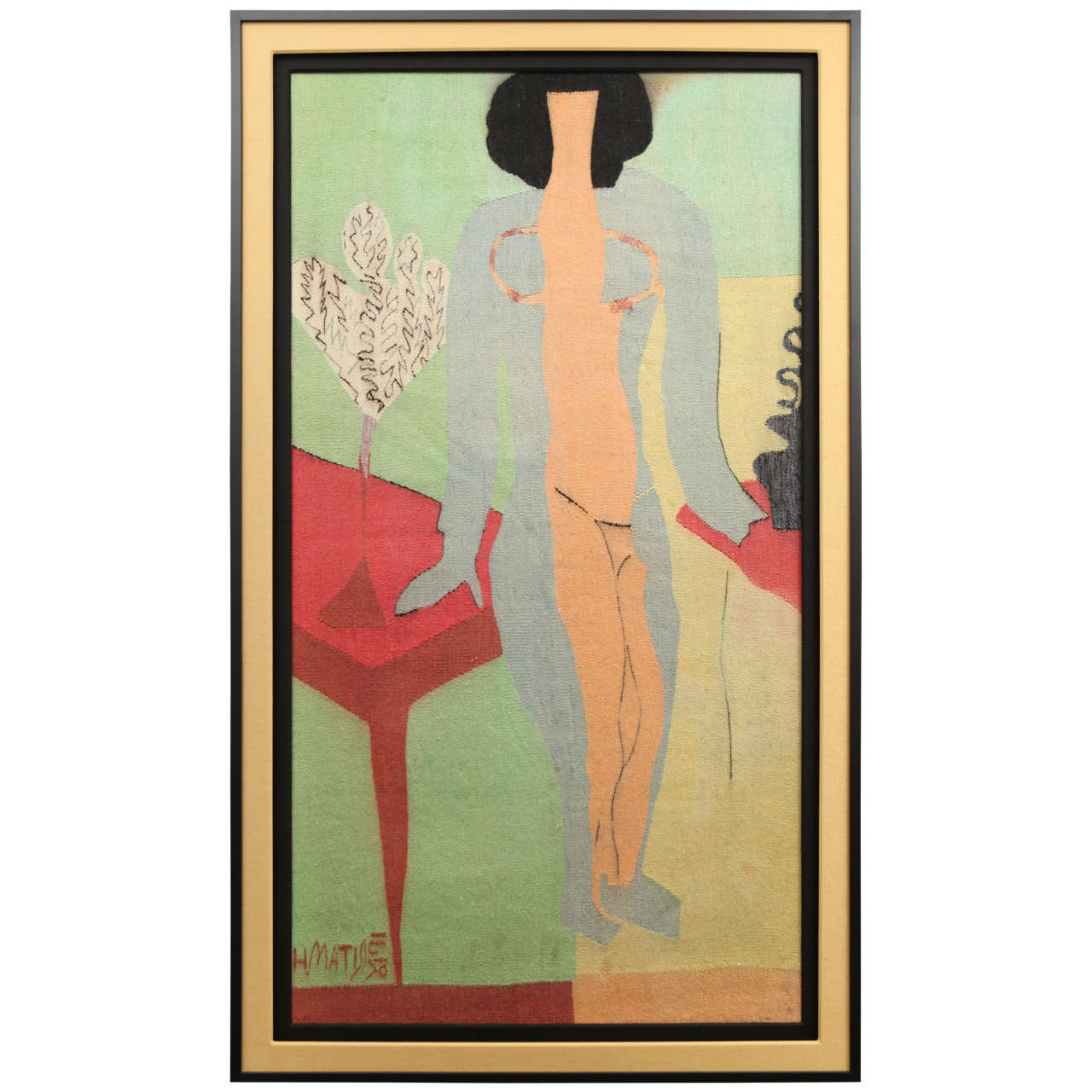 """""""Zulma"""" Tapestry Signed by Henri Matisse"""
