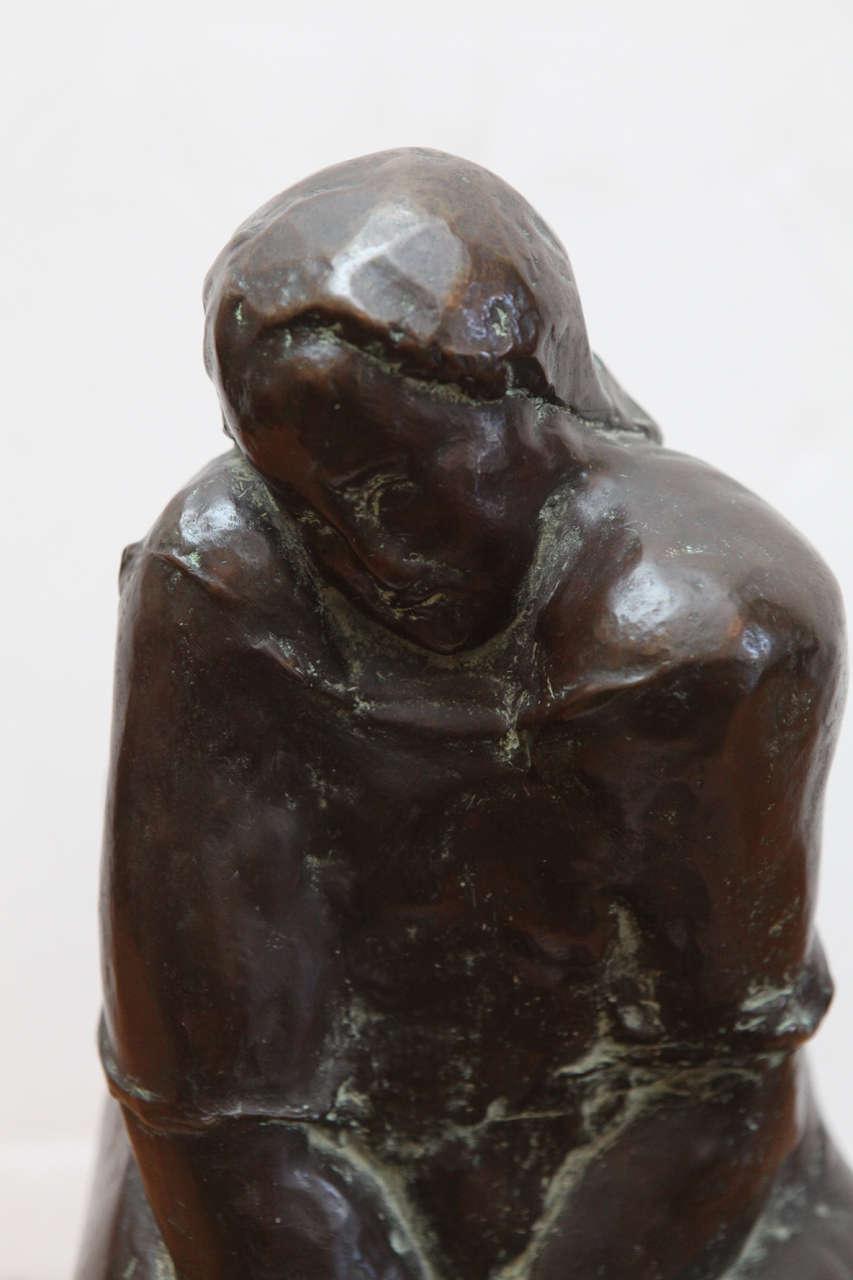 Original, Cast Bronze Sculpture In Excellent Condition For Sale In Newport Beach, CA
