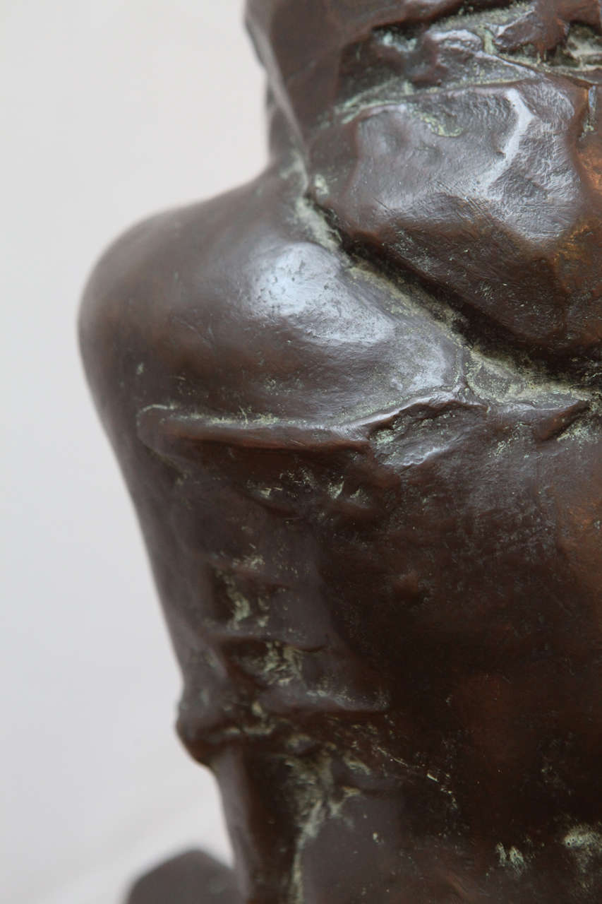 Original, Cast Bronze Sculpture For Sale 3