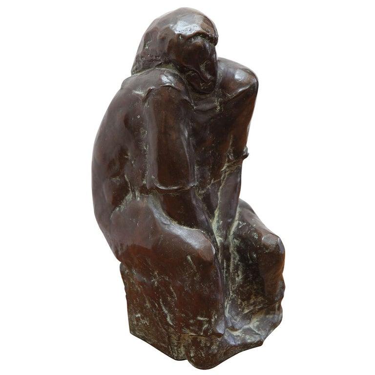 Original, Cast Bronze Sculpture For Sale