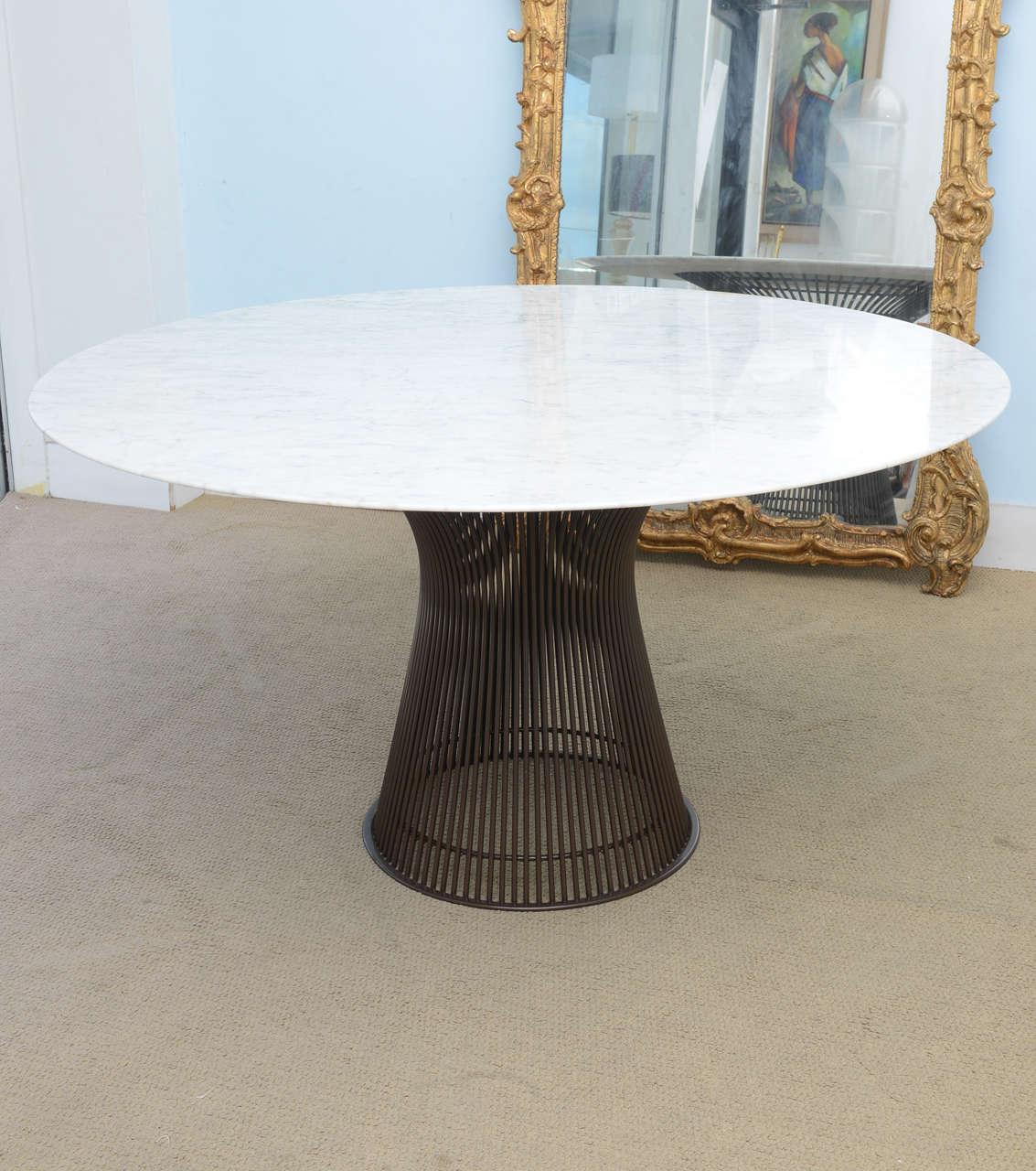 Warren Platner Marble top Dinning Table for Knoll at 1stdibs : x 21 from www.1stdibs.com size 1133 x 1280 jpeg 141kB