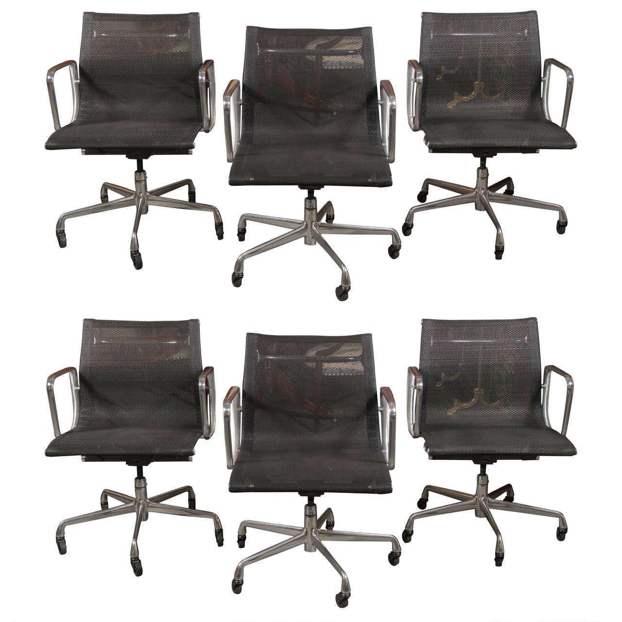 Eames for herman miller aluminum group management chairs for Herman miller eames aluminum group management chair