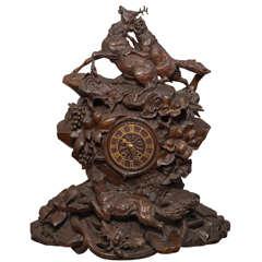 Monumental Black Forest Clock