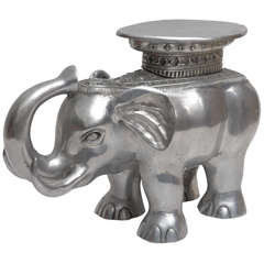 Aluminum Elephant Table
