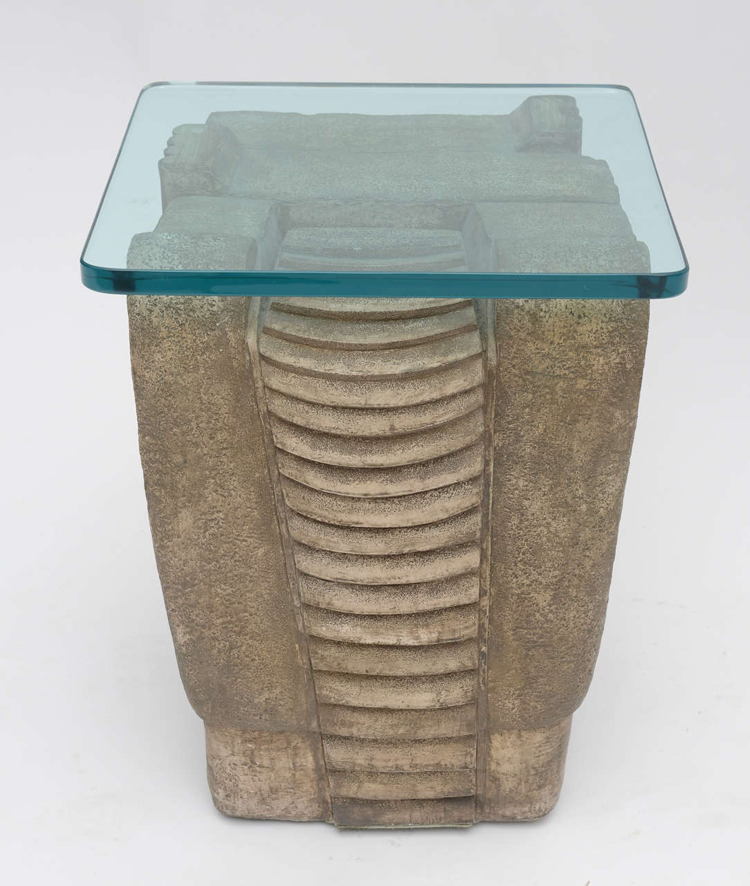 1970's Formed  Stone Tables In Good Condition For Sale In West Palm Beach, FL