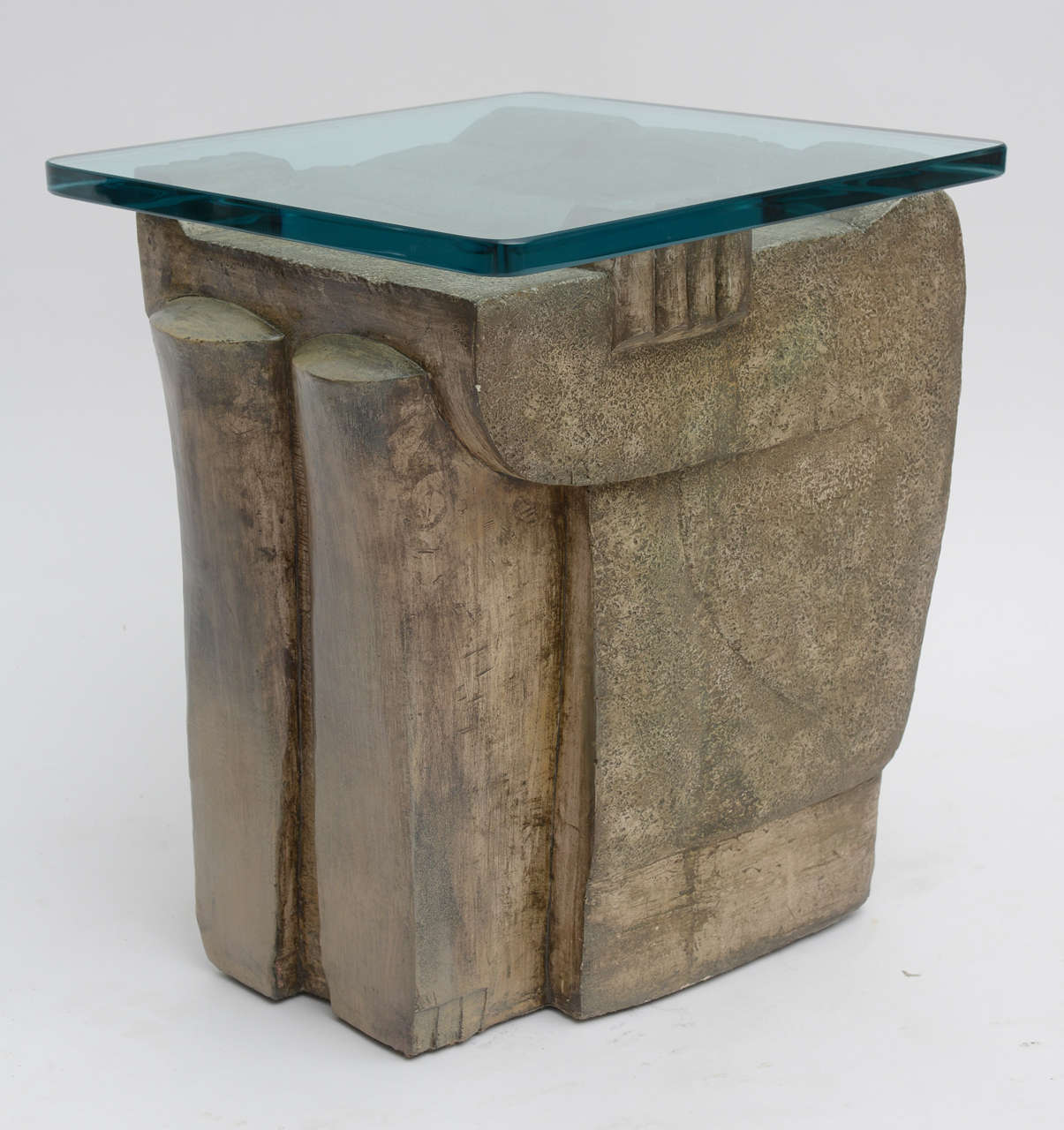 American 1970's Formed  Stone Tables For Sale