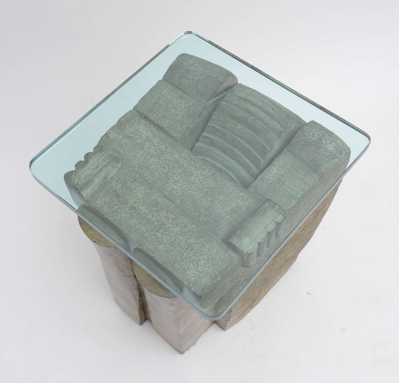 Late 20th Century 1970's Formed  Stone Tables For Sale
