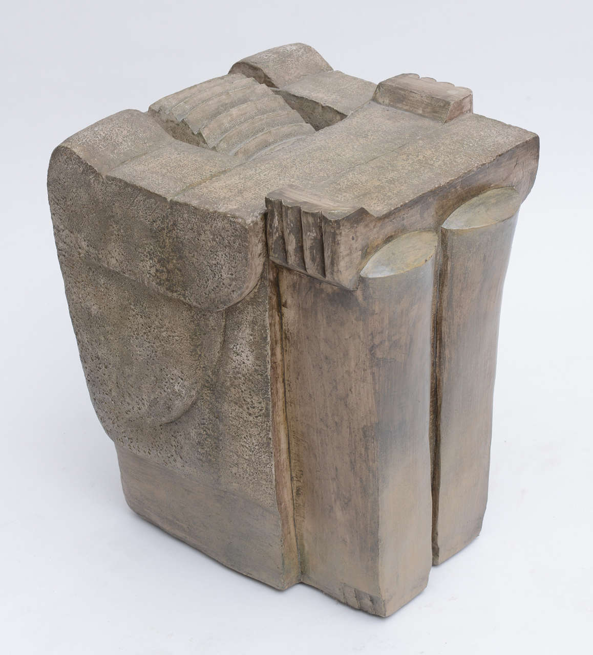 1970's Formed  Stone Tables For Sale 4