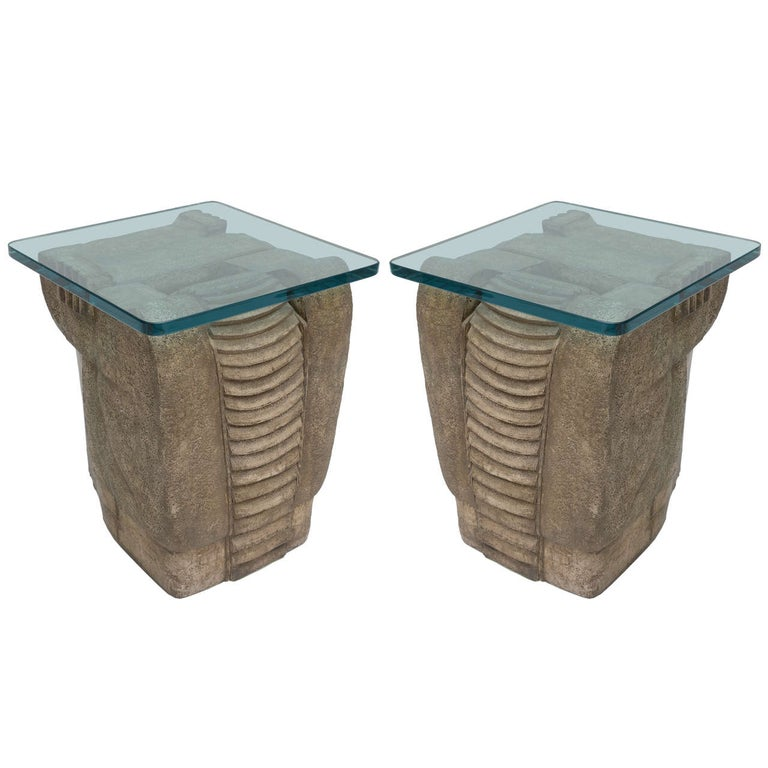 1970's Formed  Stone Tables For Sale
