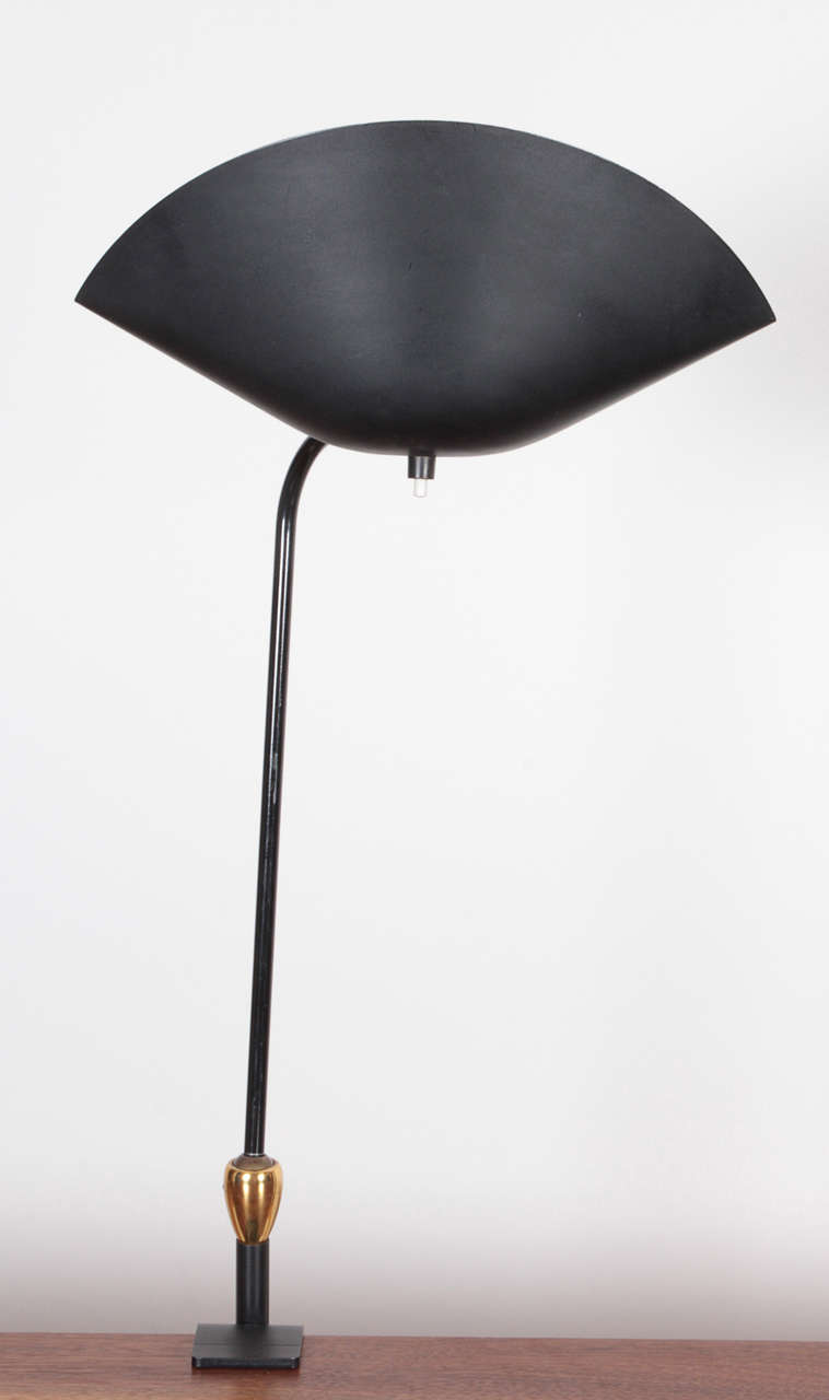 Mid-20th Century Serge Mouille Desk Lamp For Sale