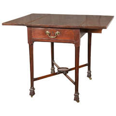 George III Mahogany Drop-Leaf Table