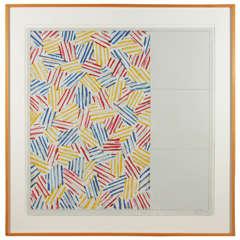 Jasper Johns, Color Lithograph