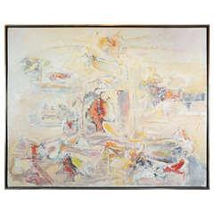 Original, Hans Burkhardt Painting