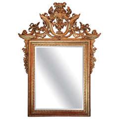 Grand, 18th c., Venetian Mirror