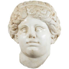 18th Century Neoclassical Marble Bust